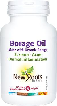 Borage Oil Made with Organic Borage 60 Softgels