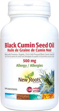 Black Cumin Seed Oil 120 Softgels