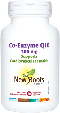 Co-Enzyme Q10 200mg 60capsules