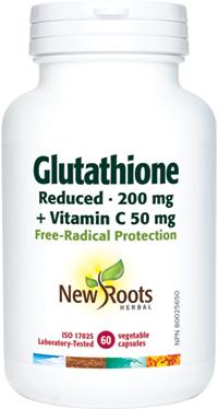 Glutathione Reduced 200mg 60 caps